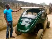 Un Volkswagen Beetle amigable con el medio ambiente
