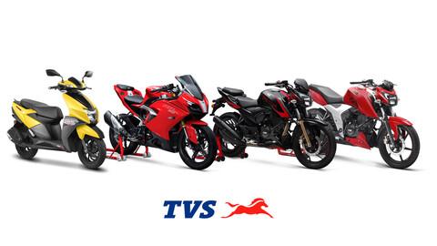 TVS Motor ingresa al mercado nacional de motos con cuatro alternativas