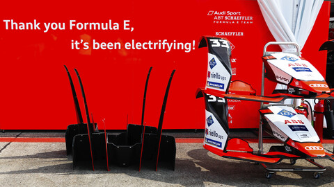 Audi Sport ABT Schaeffler se despide de la Fórmula E