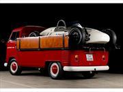 Volkswagen Kombi y Porsche Fórmula V de 1965, el mejor combo alemán