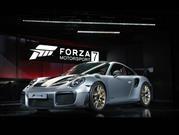 Porsche 911 GT2 RS 2018, primero Forza, después el mundo