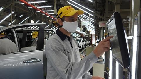 Las medidas que tomó Toyota Argentina para reiniciar la producción