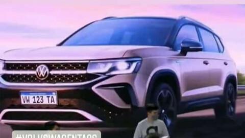 VW Taos, se filtra la primera imagen antes de su presentación