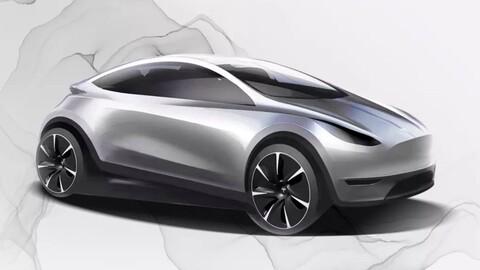 Tesla Model 2, un rival directo para el Volkswagen ID.3