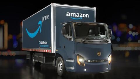 Amazon hará las entregas de sus pedidos con este camión eléctrico
