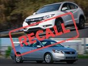 Honda HR-V y Accord a recall en Argentina