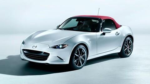 Mazda MX-5 100 aniversario 2021 llega a México, un convertible de centenario
