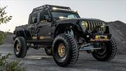 Este Jeep Gladiator tiene 550 hp gracias a que adopta un motor de Corvette