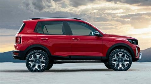 La próxima generación de la Ford Ecosport podría tener un nuevo diseño mas intrépido y aventurero