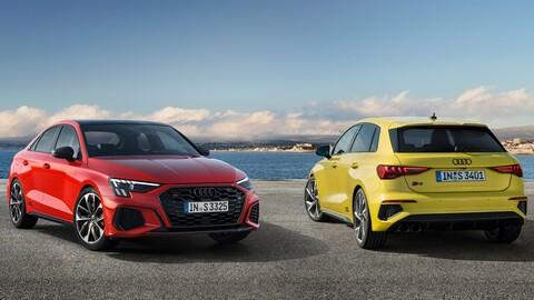 Audi S3 Sedán y Sportback 2021, ahora con más poder y equipamiento