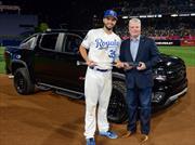 MVP del juego de las estrellas de la MLB recibe un Chevrolet Colorado Diesel Midnight Edition