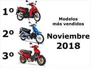 Top 10: Los modelos de motos más vendidos en noviembre 2018