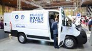PSA presenta las versiones eléctricas de sus furgones más grandes