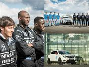 Pilotos de Nissan GT Academy se convierten en futbolistas del Manchester City