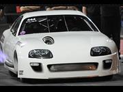 Toyota Supra hace el 1/4 de milla en 6 segundos