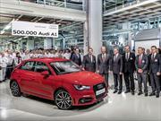 Audi A1 llegó a las 500 mil unidades fabricadas