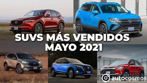 Los 10 SUVs más vendidos en mayo 2021