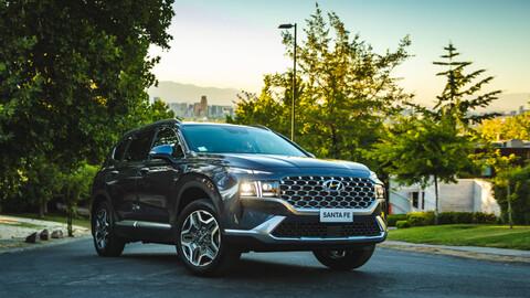 Hyundai Santa Fe 2021 en Chile: precios, versiones y equipamiento