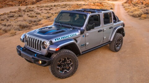 Jeep Wrangler 4xe: el 4x4 eléctrico definitivo ya está aquí