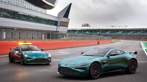 ¿Quieres manejar un Safety Car de la F1? Aston Martin te lo vende