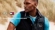 Mercedes F1 y Tommy Hilfiger presentan su nueva colección de ropa deportiva