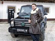 Arnold Schwarzenegger y su Mercedes-Benz Clase G Eléctrico