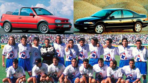 Los 10 autos más deseados de 1997, el año del último campeonato del Cruz Azul