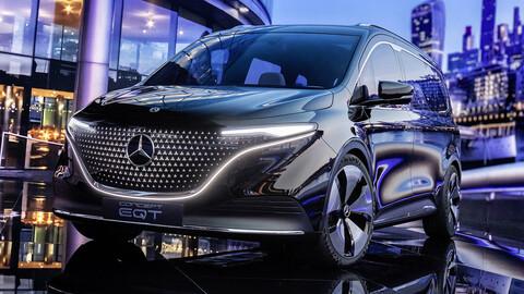Mercedes-Benz Concept EQT, la nueva lujosa minivan eléctrica