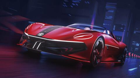MG Cyberster Concept: Nuevo adelanto del flamante deportivo