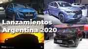 Todos los autos para Argentina en 2020