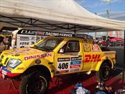 Juan Manuel Linares hace los últimos ajustes en Argentina para el inicio del Rally Dakar 2014