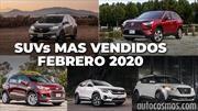 Los 10 SUVs más vendidos en febrero 2020