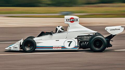 El icónico Brabham de Reutemann vuelve al ruedo