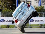 Russ Swift deslumbra con Subaru