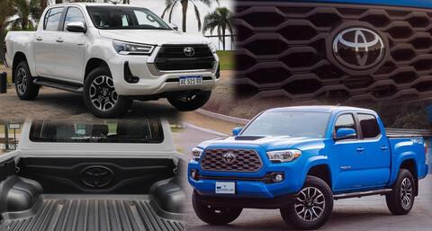 Las Toyota Hilux y Tacoma se unificarán en la próxima generación