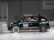 FIAT 500L obtiene el Top Safety Pick + del IIHS