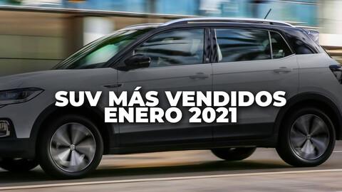 Los SUV más vendidos de Argentina en enero de 2021