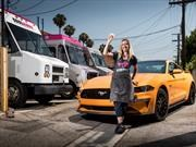 Ford Mustang 2018 inspira el sabor de un helado