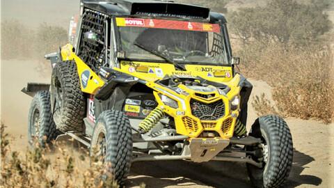 Equipo colombiano quedó por fuera del Dakar 2021