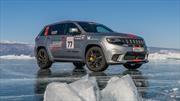 Jeep Grand Cherokee Trackhawk es el SUV más rápido sobre hielo
