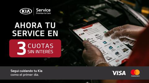 KIA Service ofrece cuotas sin interés