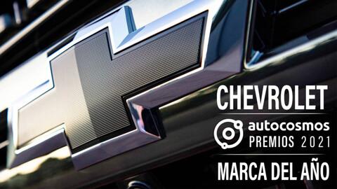 Premios Autocosmos 2021: Chevrolet es la Marca del Año
