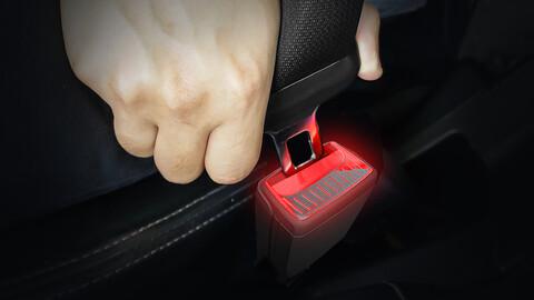 Desarrollan hebillas iluminadas para cinturones de seguridad