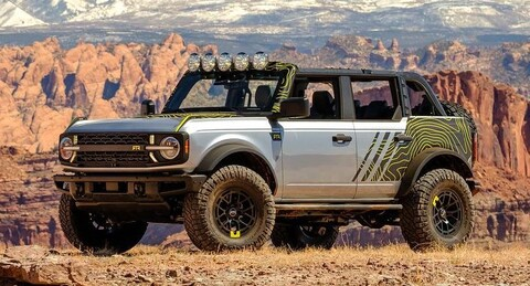 Ford Bronco RTR 2022: Llevalo a donde quieras