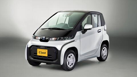 Toyota C+pod, el nuevo chiquitín eléctrico de la marca