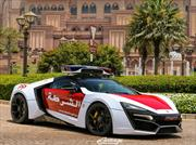 Lykan Hypersport, el nuevo patrullero exótico de la policía de Abu Dhabi