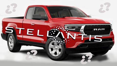 RAM Dakota sería reemplazada por otra pickup mediana del flamante grupo Stellantis