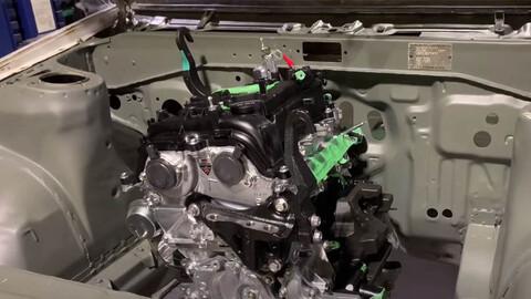 Entusiasta monta el motor de un Toyota GR Yaris en un Corolla AE86 Levin