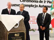 Nissan colocó la primera piedra de su nueva planta en Aguascalientes