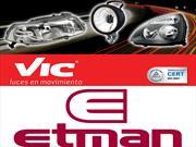 Etman incorpora la línea de ópticas y faros VIC